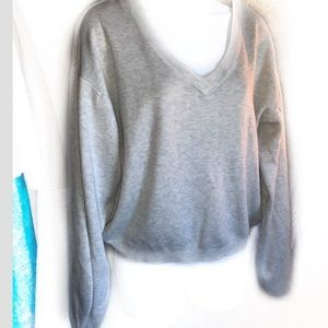 Poof New York bell sleeve sweater Sz M